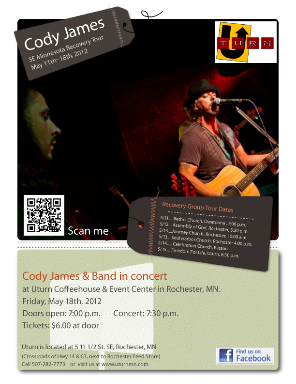 Cody James Recovery Tour