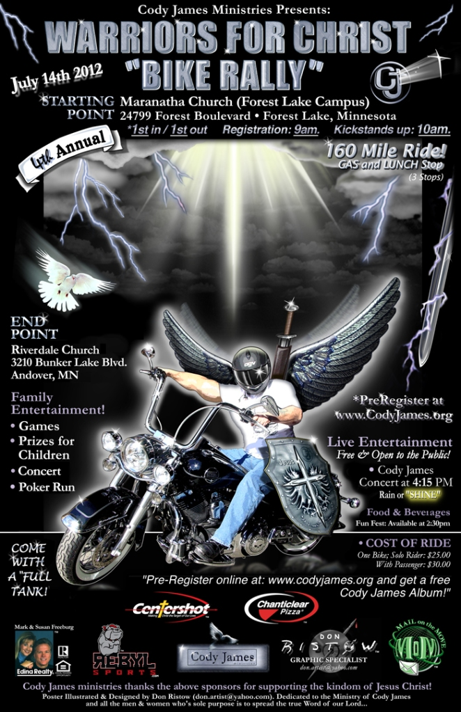 Warriors for Christ Motorcycle Rally