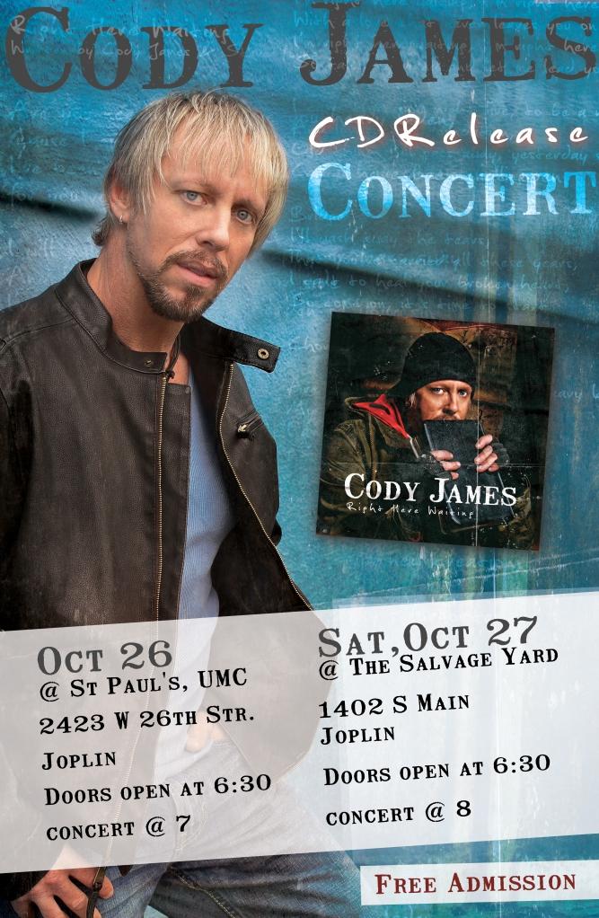Cody James Concert